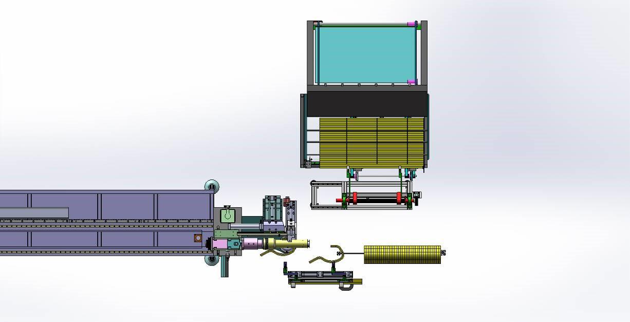 弯管机技术方案图