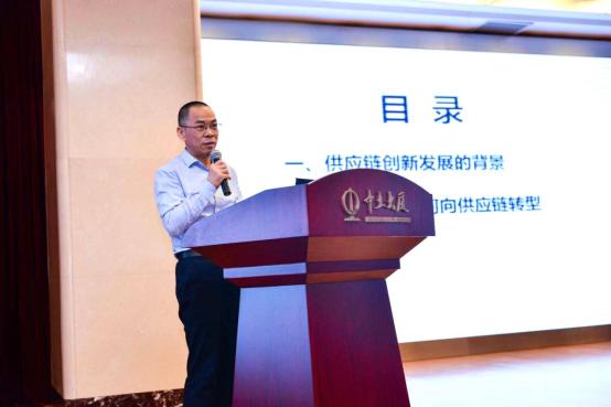 中国物流与采购联合会采购与供应链管理专业委员会主任  胡大剑